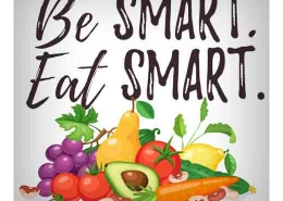 be smart eat smart graphic